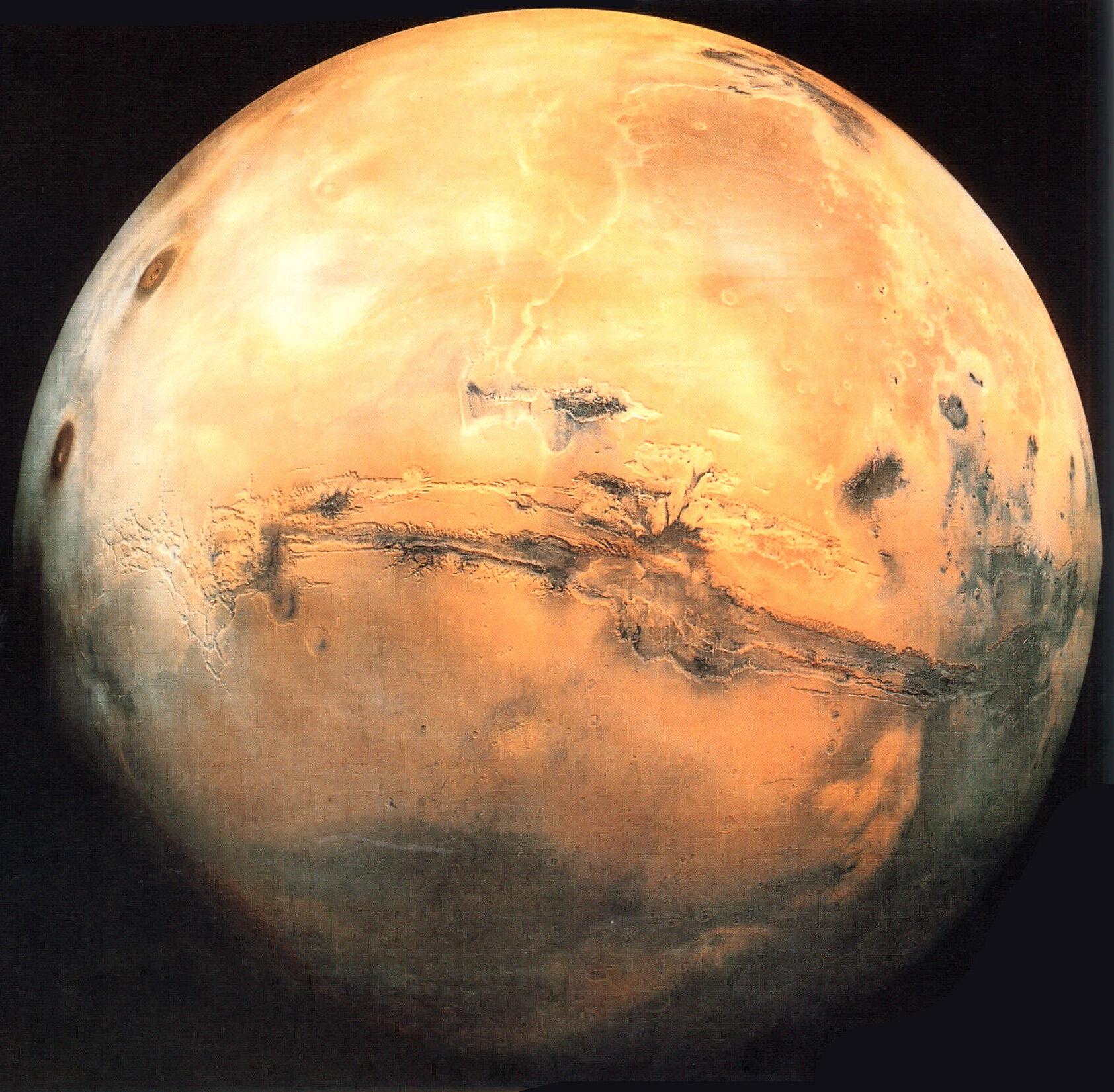 Mars, principales caractéristiques de la planète rouge | IASB