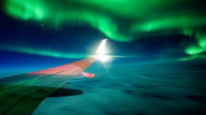 Space weather can affect aviation by causing degradation of radio/satellite communication, onboard system failure, high radiation doses for air travelers