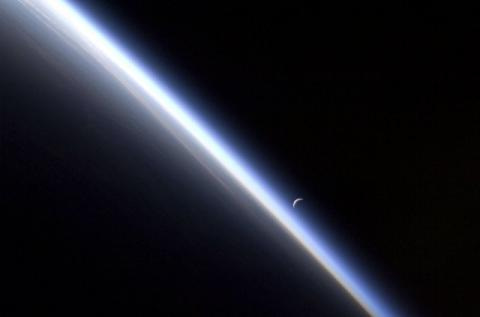 Earth's atmosphere protects us a shield